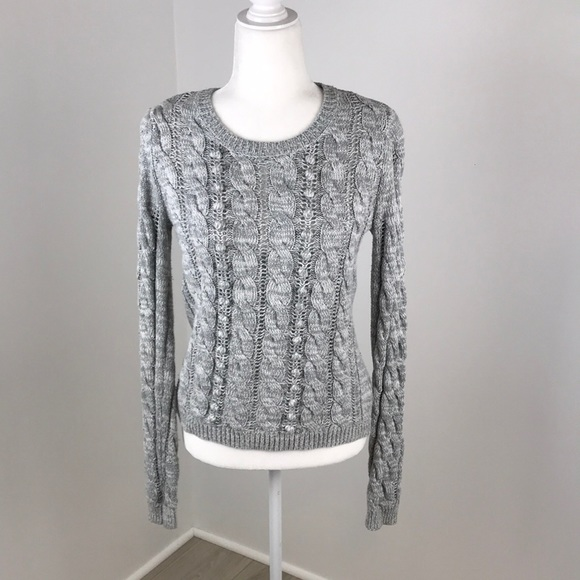 Anthropologie Ruby Moon Crew Neck Sweater Size S